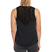 CALIA by Carrie Underwood Women's Limited Edition Onyx Velvet Pieced Tank Top