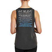 CALIA by Carrie Underwood Women's Flow We Believe Graphic Muscle Tank Top