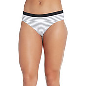 CALIA by Carrie Underwood Women's Wide Banded Printed Bikini Bottoms