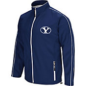 Colosseum Men's BYU Cougars Blue Barrier Full Zip Wind Jacket