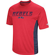 Colosseum Men's Ole Miss Rebels Blue Beamer T-Shirt