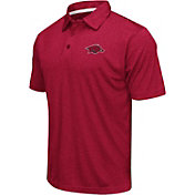 Colosseum Athletics Men's Arkansas Razorbacks Cardinal Performance Polo