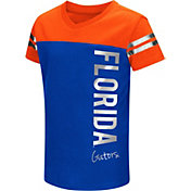Colosseum Toddler Girls' Florida Gators Blue Cricket T-Shirt