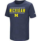 Colosseum Athletics Toddler Michigan Wolverines Blue Closer T-Shirt