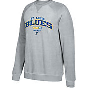 CCM Men's St. Louis Blues Practice Grey Sweatshirt