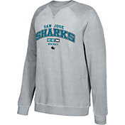 CCM Men's San Jose Sharks Practice Grey Sweatshirt