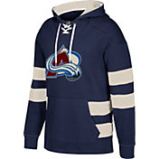 CCM Men's Colorado Avalanche Jersey Navy Pullover Hoodie