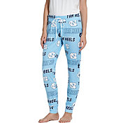 Concepts Sport Women's North Carolina Tar Heels Carolina Blue Slide Sleep Pants