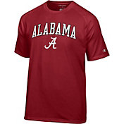 Champion Men's Alabama Crimson Tide Crimson Word Logo T-Shirt