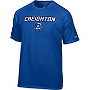 Champion Men's Creighton Bluejays Blue Logo T-Shirt
