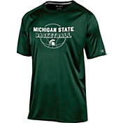 Champion Men's Michigan State Spartans Green Training T-Shirt