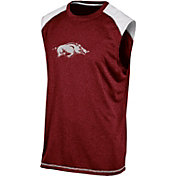 Champion Men's Arkansas Razorbacks Cardinal Muscle Tee