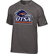 Champion Men's UT San Antonio Roadrunners Grey Big Logo T-Shirt