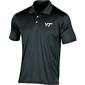 Champion Men's Virginia Tech Hokies Black Classic Polo