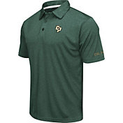 Colosseum Men's Cal Poly Mustangs Green Axis Polo