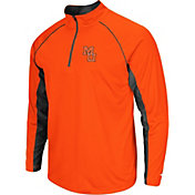 Colosseum Men's Mercer Bears Orange Airstream Quarter-Zip