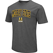 Colosseum Men's Murray State Racers Grey Dual Blend T-Shirt