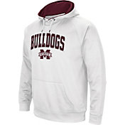 Colosseum Men's Mississippi State Bulldogs White Performance Hoodie