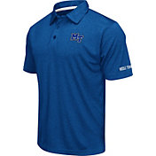 Colosseum Men's Middle Tennessee State Blue Raiders Blue Axis Polo