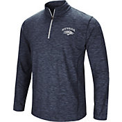 Colosseum Athletics Men's Nevada Wolf Pack Navy Action Pass Quarter-Zip Shirt