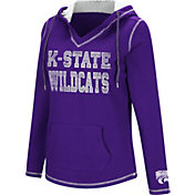 Colosseum Women's Kansas State Wildcats Purple Spike Fleece Hoodie