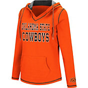 Colosseum Women's Oklahoma State Cowboys Orange Spike Fleece Hoodie