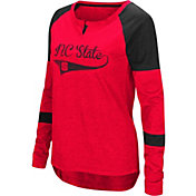 Colosseum Women's North Carolina State Wolfpack Red Routine Raglan Long Sleeve T-Shirt