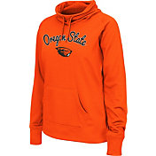 Colosseum Women's Oregon State Beavers Orange Funnel Neck Fleece Pullover