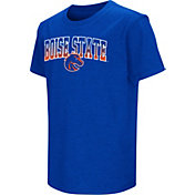 Colosseum Youth Boise State Broncos Blue Dual Blend T-Shirt