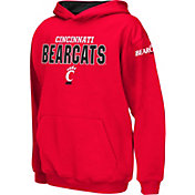 Colosseum Boys' Cincinnati Bearcats Red Pullover Hoodie