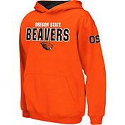 Colosseum Boys' Oregon State Beavers Orange Pullover Hoodie