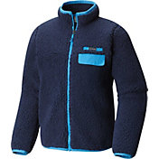 Columbia Boys' Mountain Side Heavyweight Full Zip Fleece Jacket