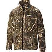 Columbia Men's Wright State Raiders Camo Flanker Full-Zip Fleece