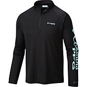 Columbia Men's PFG Terminal Tackle Quarter Zip Long Sleeve Shirt