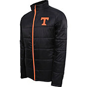 Campus Specialties Men's Tennessee Volunteers Black Puffer Jacket