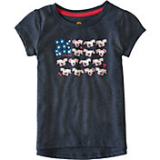 Carhartt Toddler Girls' Horse and Flower Short Sleeve T-Shirt