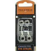 Field & Stream Stainless Steel Eye Straps