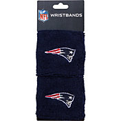 Franklin New England Patriots Embroidered Wristbands
