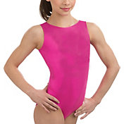 GK Elite Youth Scoop Back Mystique Gymnastics Tank Leotard