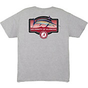Guy Harvey Men's Alabama Crimson Tide Grey Master's T-Shirt