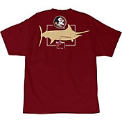 Guy Harvey Men's Florida State Seminoles Garnet Logo T-Shirt