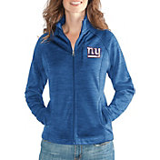 G-III for Her Women's New York Giants Hand Off Royal Full-Zip Jacket