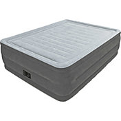 Intex Comfort Plush Queen Air Mattress with Built-In Pump