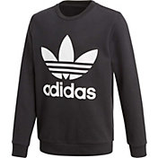 adidas Originals Girls' Trefoil Crew Sweatshirt