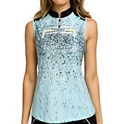 Jamie Sadock Women's Serenity Sleeveless Golf Polo