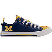 Skicks Michigan Wolverines Low Top Sneaker