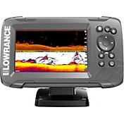 Lowrance HOOK2-5 SplitShot GPS Fish Finder with US Inland Maps