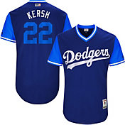 Majestic Men's Authentic Los Angeles Dodgers Clayton Kershaw 'Kersh' MLB Players Weekend Jersey