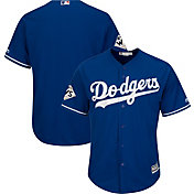 Majestic Men's 2017 World Series Replica Los Angeles Dodgers Cool Base Alternate Royal Jersey