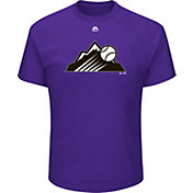 Majestic Men's Colorado Rockies MLB Players Weekend Logo T-Shirt